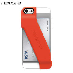 Remora Wallet Case for iPhone 5S / 5 - Fire Engine Red