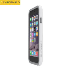 Rhino Shield Crash Guard iPhone 6 Bumper Case - White