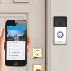 Ring Wi-Fi Enabled Video Doorbell - Silver
