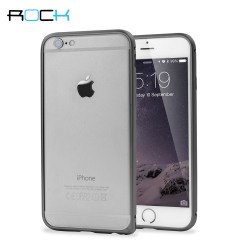 ROCK Arc Slim Guard iPhone 6 Aluminium Bumper Case - Grey