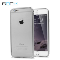 ROCK Arc Slim Guard iPhone 6 Aluminium Bumper Case - Silver