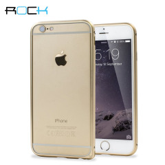 ROCK Arc Slim Guard iPhone 6S / 6 Aluminium Bumper Case - Gold