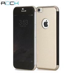 ROCK Dr.V iPhone 6S Plus / 6 Plus View Case - Gold