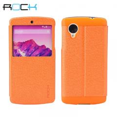Rock Excel Stand Case for Google Nexus 5 - Orange