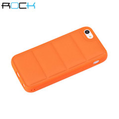 ROCK Pillow iPhone 5C Protective Case - Orange