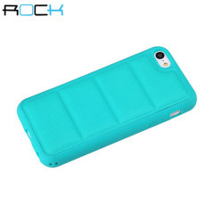 ROCK Pillow iPhone 5C Protective Case - Turquoise