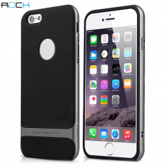 ROCK Royce iPhone 6 Plus Hybrid Case - Grey