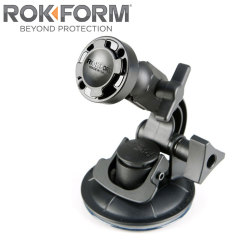 ROKFORM Universal Windshield Phone V.3 Suction Swivel Mount - Black
