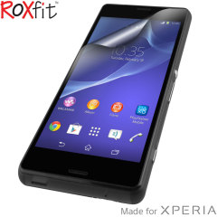 Roxfit 2 Pack Anti-Fingerprint Sony Xperia Z3 Compact Screen Protector