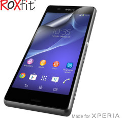 Roxfit 2 Pack Anti-Fingerprint Sony Xperia Z3 Screen Protector