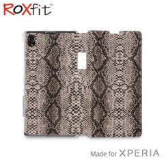 Roxfit Book Flip Case for Sony Xperia Z1 - Pale Cobra