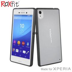 Roxfit Gel Shell Slim Sony Xperia M4 Aqua Case - Silver