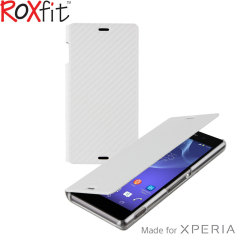 Roxfit Slim Book Sony Xperia Z3 Case - Carbon White