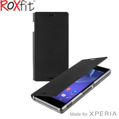 Roxfit Slim Book Sony Xperia Z3 Case - Nero Black