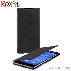 Roxfit Slim Book Sony Xperia Z3+ Case - Nero Black