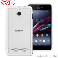 Roxfit Sony Xperia E1 Gel Shell Case - White