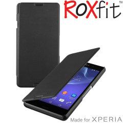 Roxfit Sony Xperia E3 Slim Book Case - Nero Black