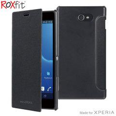 Roxfit Sony Xperia M2 Book Case - Black