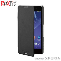 Roxfit Sony Xperia M4 Aqua Slim Book Case - Black