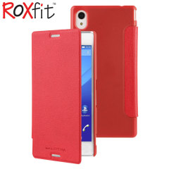 Roxfit Sony Xperia M4 Aqua Slim Book Case - Red