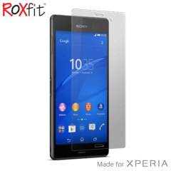 Roxfit Sony Xperia M4 Aqua Tempered Glass Screen Protector