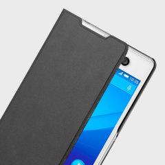 Roxfit Sony Xperia M5 Slimeline Book Case - Nero Black