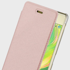 Roxfit Sony Xperia X Premium Slim Book Case - Rose Gold