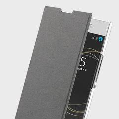 Roxfit Sony Xperia XA1 Ultra Simply Book Case - Black / Clear