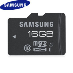 Samsung 16GB UHS-1 Grade 1 MicroSDHC Pro - Class 10