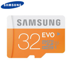 Samsung 32GB MicroSDHC EVO Card - Class 10