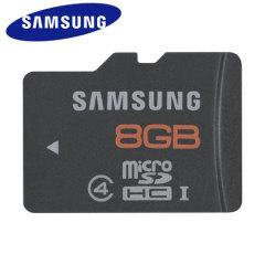 Samsung 8GB UHS-1 MicroSDHC Plus Memory - Class 4