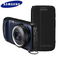 Samsung Flip Cover + for Samsung Galaxy S4 Zoom - Black