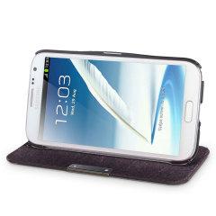 Samsung Galaxy Note 2 Flip Case - Black
