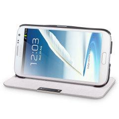 Samsung Galaxy Note 2 Flip Case - White