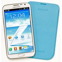 Samsung Galaxy Note 2 Pouch EFC-1J9LLEGSTD - Light Blue