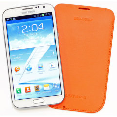 Samsung Galaxy Note 2 Pouch EFC-1J9LOEGSTD - Orange