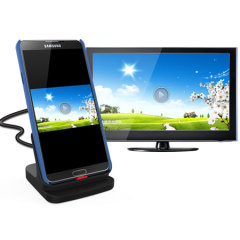 Samsung Galaxy Note 3 Case Compatible HDMI Charging Dock