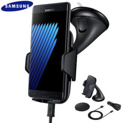 Samsung Galaxy Note 7 Qi Wireless Charging Car Holder - Black