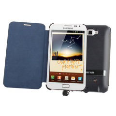 Samsung Galaxy Note Charger Leather Case - 3200mA