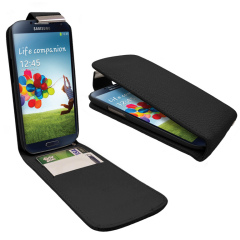Samsung Galaxy S4 Flip Case - Black