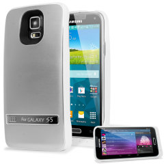 Samsung Galaxy S5 Power Jacket Case 3200mAh - Silver