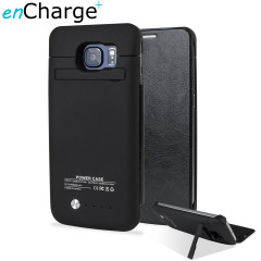 Samsung Galaxy S6 Power Bank Case with Cover 4,200mAh - Black