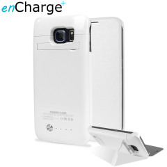 Samsung Galaxy S6 Power Bank Case with Cover 4,200mAh - White