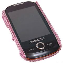 Samsung Genio Diamante Back Cover - Pink