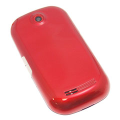 Samsung Genio Touch Back Cover - Red
