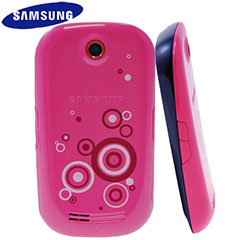Samsung Genio Touch Fashion Jacket - Pink Swirls