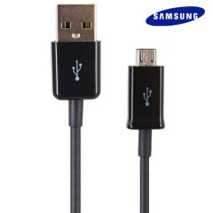 Samsung Micro USB Sync & Charge Cable - Black