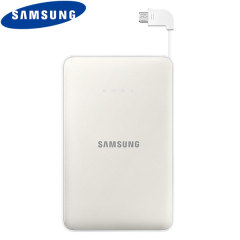 Samsung Portable Micro USB 11,300 mAh Power Bank - White