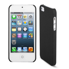 Sandblast Slim Case for iPhone 5S / 5 - Black