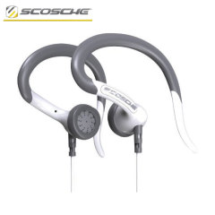 Scosche sportCLIPS 2 Over-Ear Earphones - White